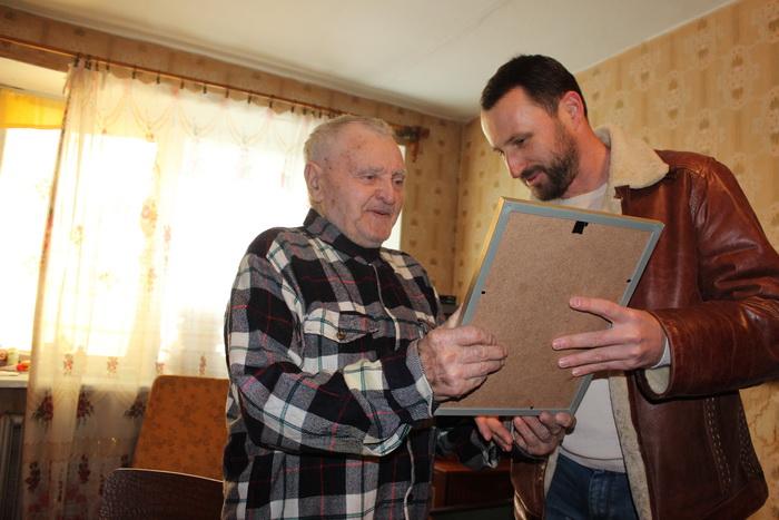 Луцького ветерана привітали з 90-річчям, фото-1
