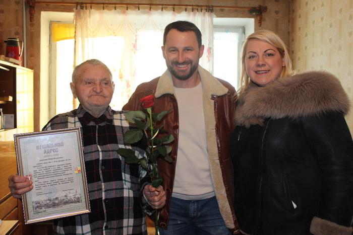 Луцького ветерана привітали з 90-річчям, фото-2