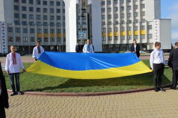 Урочистий мітинг та святкова хода з нагоди 22-ї річниці Незалежності України