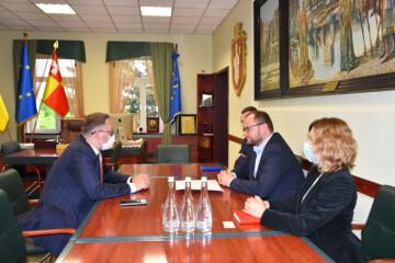 Lutsk City Mayor Ihor Polishchuk met with Markiyan Malskii, Honorary Consul of the Republic of Austria in Lviv