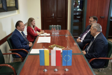 Hryhorii Pustovit thanked Consul General of the Republic of Poland in Lutsk Wiesław Mazur for significant personal contribution to the development of Ukrainian-Polish cooperation