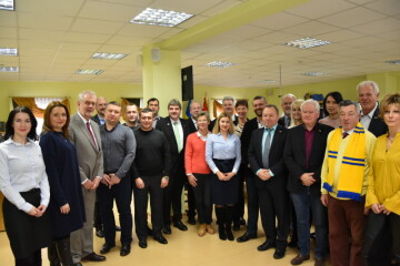 Secretary of Lutsk City Council Hryhorii Pustovit has met with a delegation from the Lippe District