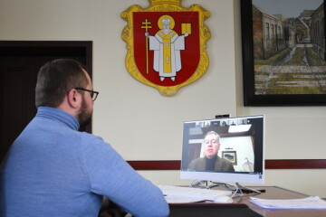 Lutsk City Mayor Ihor Polishchuk held an online meeting with the Ambassador Extraordinary and Plenipotentiary of Ukraine to the State of Israel
