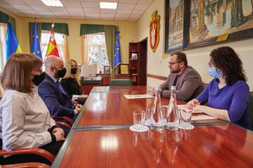 Lutsk City Mayor Ihor Polishchuk met with the Honorary Consul of the Republic of Croatia in the Western region of Ukraine