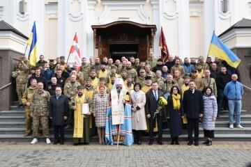 У Луцьку урочисто відзначили День українського добровольця