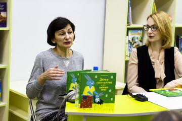 У бібліотеці «ДіМ» презентували книгу письменниці Оксани Драчковської