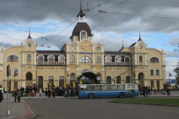 Відкриття залізничного вокзалу