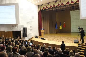 Звіт Луцького міського голови Миколи Романюка перед територіальною громадою про роботу у 2015 році