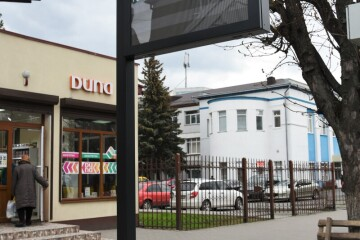 """Installment of """"smart displays"""" at public transport stops in Lutsk has been completed"""