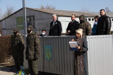 Міський голова Ігор Поліщук взяв участь в урочистостях з нагоди річниці створення Національної гвардії України