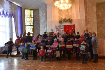 """A charity event """"Christmas in the heart"""" has taken place in Lutsk"""
