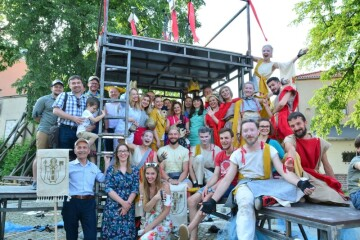 "In Lublin a large street show ""# LUTSKO. The spirit of the city"" was presented"