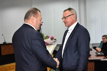 Нагородження Токарчука  Михайла Михайловича з нагоди особистого ювілею.