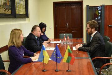 A representative of the Lithuanian Embassy in Ukraine visited Lutsk