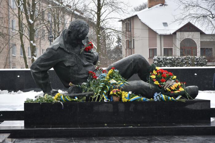 У Луцьку вшанували пам'ять загиблих під час Другої світової війни