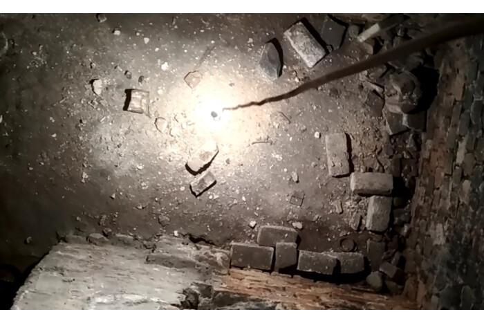 Під цокольним поверхом  вежі князів Чорторийських виявили підземні кімнати