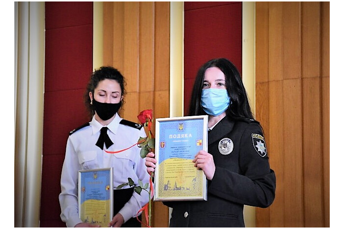 Вітання правоохоронців з Днем Національної поліції України.