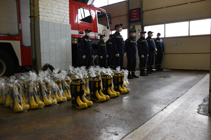 Fire and Rescue Service in Volyn region has received new equipment