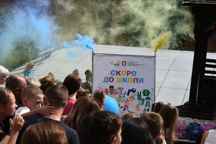Скоро до школи: у Луцьку в одинадцяте відбулась благодійна акція для дітей
