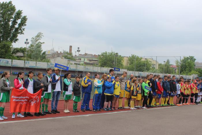 Луцьк приймає Всеукраїнський турнір з футболу Спеціальної Олімпіади України