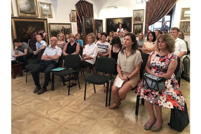 """A seminar-training """"Ways and methods of the heritage preservation of historical cities: Trakai experience to Lutsk"""" took place in Lutsk."""
