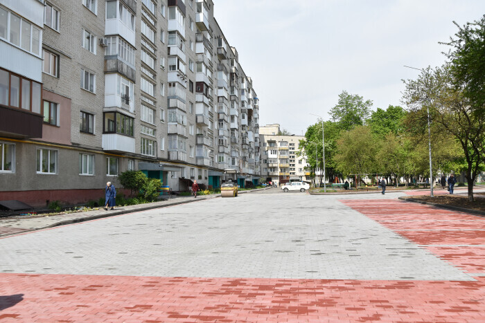 Work on the improvement of the city is being continued despite the quarantine