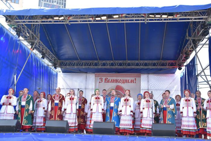 """У центрі міста- етно-фестиваль «Великдень у Луцьку"""""""