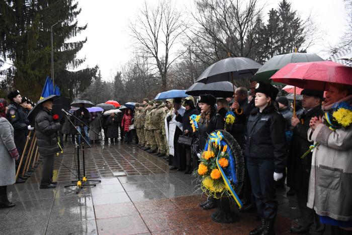 Лучани відзначили 76-ту річницю визволення міста від нацистських загарбників