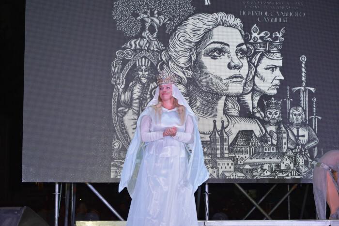У Луцьку – прем'єра історично-міфологічної мультимедійної вистави «Едігна. Донька Анни Київської та Генріха І»