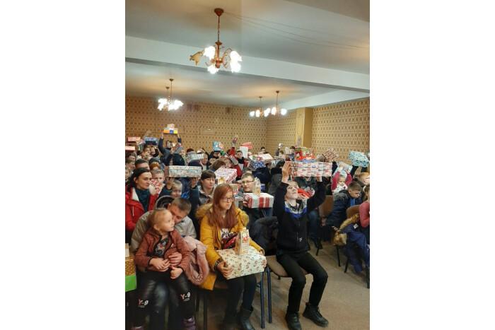 88 дітей з особливими потребами отримали подарунки від благодійників
