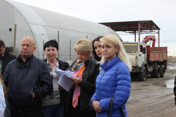Депутати побували на полігоні твердих побутових відходів у селі Брище