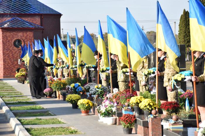 Лучани вшанували пам'ять Героїв України, загиблих під час бойових дій на Сході