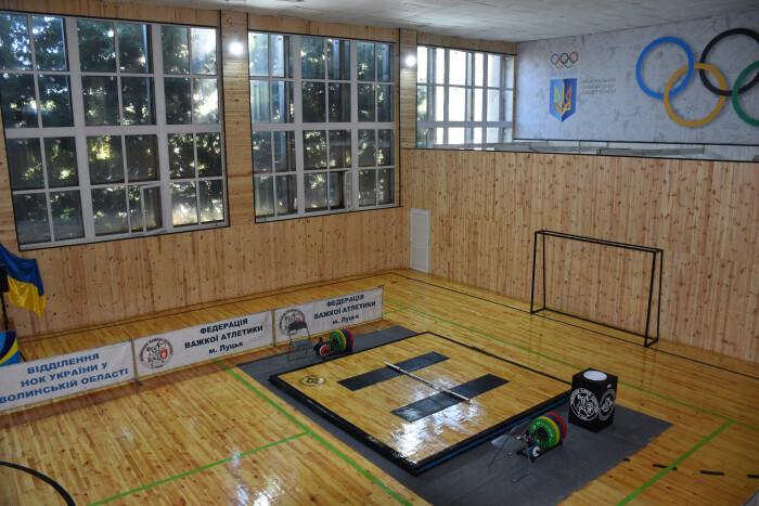 """""""Спорт робить людей кращими"""": у Луцьку відкрили оновлений спорткомплекс """"Колос"""""""