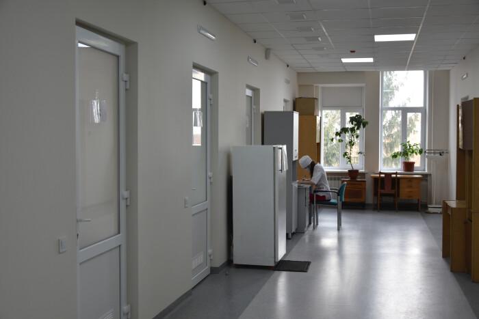 У Волинській обласній інфекційній лікарні тривають ремонтні роботи