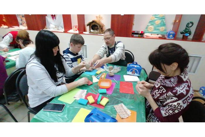 У «Різдвяній майстерні» провели зустріч для дітей-сиріт та дітей, позбавлених батьківсього піклування