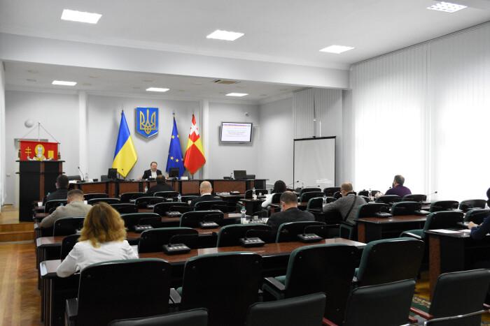 Останнє засідання членів виконавчого комітету нинішнього складу