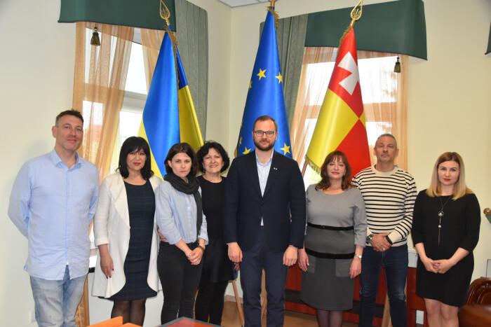 Ігор Поліщук зустрівся з французькими музикантами - учасниками міжнародного мистецького проекту «KyivFestKlezmer»