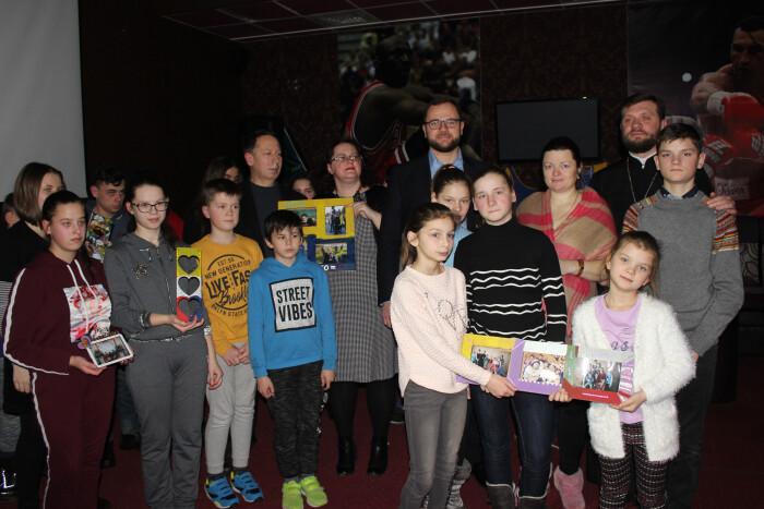Представники міської влади взяли участь у соціальному проекті «Різдвяні зустрічі»