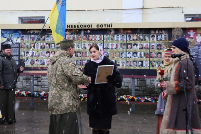 Вшануваня пам'ять добровольців, що загинули внаслідок бойових дій на Сході