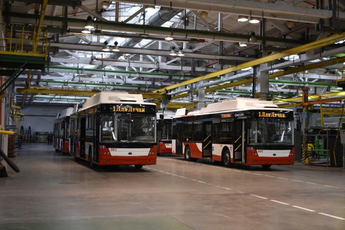 Луцьк отримав ще чотири нових тролейбуси