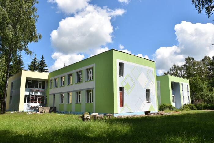 Фасад Луцької дитячої художньої школи набув естетичного вигляду