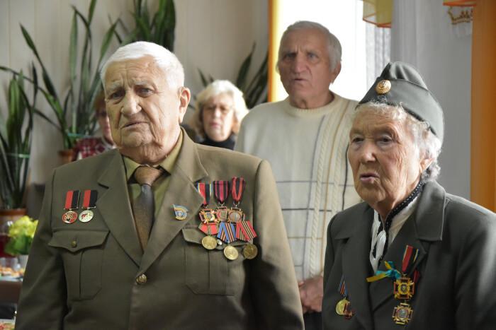 Ветеранів ОУН-УПА нашого міста привітали із Днем захисника України
