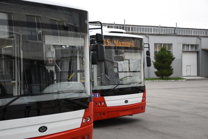Луцьк поповнить тролейбусний парк на 59 нових тролейбусів