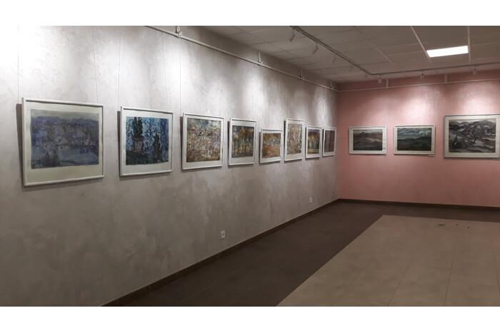 Відкрили виставку акварелей Валентина Кирилкова