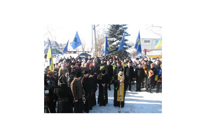 У Луцьку вшановано пам'ять Героїв Крут