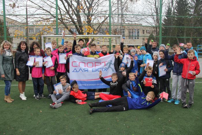 Завершився турнір з міні-футболу серед команд дітей, сформованих за місцем проживання