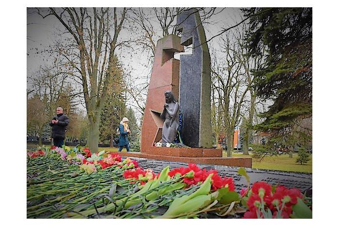 Урочистості з вшанування пам'ять воїнів, які загинули на території інших держав.