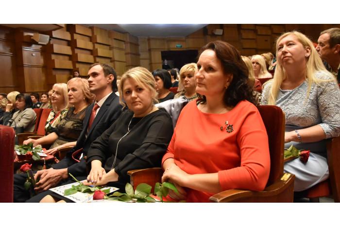 Працівників освіти міста Луцька привітали із професійним святом
