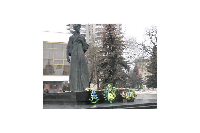 Лучани вшанували Лесю Українку