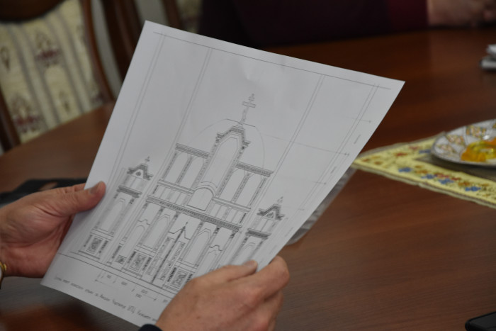Відбулась робоча зустріч щодо будівництва храму у Волновасі